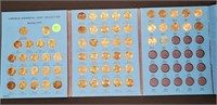 LINCOLN MEMORIAL CENTS BOOK (90)
