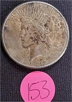 1922 - SILVER PEACE DOLLAR (153)