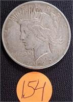1922 - SILVER PEACE DOLLAR (154)
