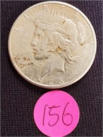 1923 - SILVER PEACE DOLLAR (156)