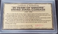 25 YEARS OF GENUINE COLLECTION OF COINS (118)