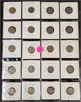 LOT OF SILVER DIMES - SEE PICS (178)