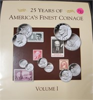 25 YEARS OF AMERICA'S FINEST COINAGE (195)