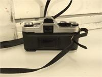 Canon AE-1 35 mm film camera, with canon flash,