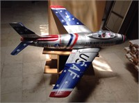 RC US Airforce jet fighter FU 201, 51 inches long