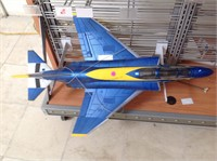 RC US Navy Blue Angels 6 jet airplane,  31 inches