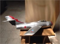 RC Russian jet fighter 384, 34 inches long