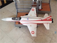 RC F5Tiger jet airplane,50 inches long