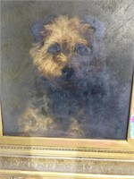 Portrait of a Dog, titled on rear - My Friend