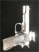 Vintage  lighter 45. Cal  pistol form , 6 inc
