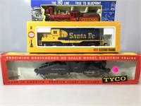 HO Engine sets, new in box inc Tyco Big Six