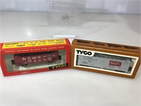 Tyco nib HO train car collection,
