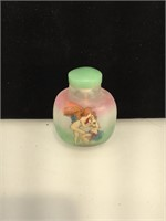 3 inch tall resin erotic snuff bottle
