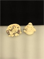 2 piece erotic buddha, resin
