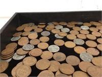 Lot of 1940's Wheat Pennies