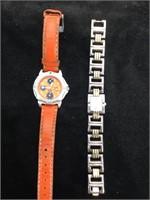 Pair of working Anne Klein wristwatches