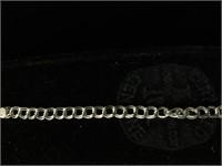 Sterling Silver bracelet - 7 in - 5.6g