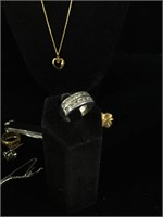Assorted costume jewelry, pocket knives and more