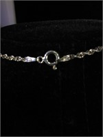 Sterling Silver necklace with Sterling and