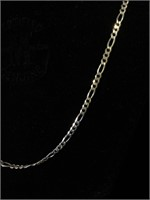 Sterling Silver Italy Long chain necklace - 34 in