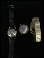 Lot of watches - not running - Bulova missing
