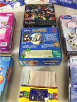7 assorted board games, 2 jigsaw puzzle, unknown