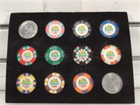 Casino Dunes commemorative Poker chips from