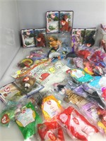 Large lot of McDonalds Ty Beanie babies