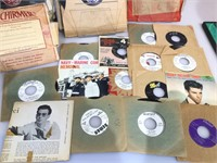 Lot of mostly 78's LP's and more