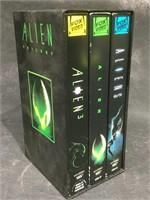 Alien Box set trilogy VHS