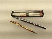 Pentel pen in box with a Zippo retractable ball