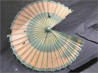 Asian hand made wooden paper Umbrellas - some use