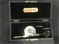 Vintage Beaver Ring cutter in case, cased