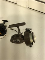 2 Spinning  reels, Polar 31, and Shakespeare 2205