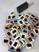 Lot of assorted projector slides
