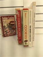 Lot of cooking books