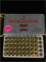 45 rounds of Winchester 32 S&W
