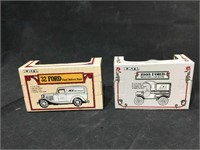 NIB Pair of Die cast metal Ace Hardware 1905 Ford