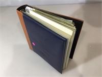 WWll Repro photos w/info on binder