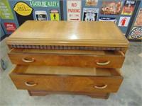 3 Drawer Wooden Dresser / Mirror