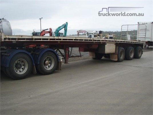 2002 Ophee Flat Top Trailer - Trailers for Sale