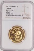 Rare Gold Coin Collection, Pandas, US Gold Coins