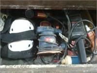 Tool Cabinet W/ Sander & Jointer