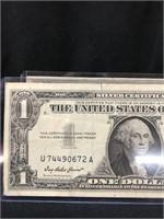 1957 Silver Certificate