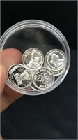 Fractional Silver Round