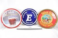 M&B, West End & Worthington Beer Trays