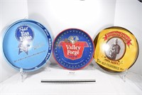 Thomas Usher, Valley Forge & Pabst Beer Trays