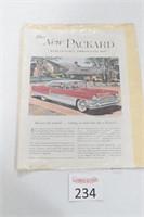 1955 Packard Magazine Ad.