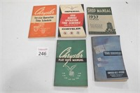 Antique Chrysler & Packard Shop Manuals