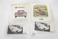 AMC Studebaker & Avanti Sales Brochures